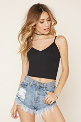 Forever 21 Ribbed V Neck Cami