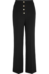 Vanessa Bruno Fylis Crepe Flared Pants Black