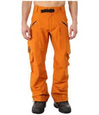 Black Diamond Mission Pro Pants Copper Men's Casual Pants Bronze