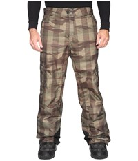 Columbia Big Tall Ridge 2 Run Ii Pant Peatmoss Buffalo Camo Men's Casual Pants Brown