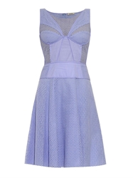 Nina Ricci Broderie Anglaise Cotton Dress