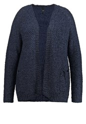 Evans Cardigan Navy Blue Dark Blue