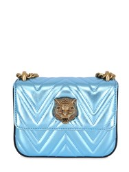 Gucci Broadway Quilted Metallic Nappa Bag