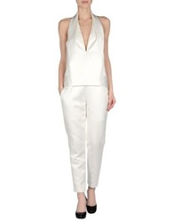 Alexander Wang Pant Overalls White