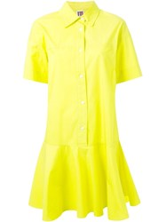 I'm Isola Marras Flared Shirt Dress Yellow And Orange