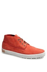 Men's Blackstone 'Bm 19' Leather Sneaker Red