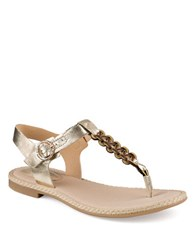 Sperry Anchor Away Sandals Platinum