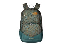 The North Face Wise Guy Backpack Duck Green Iconversational Print Backpack Bags