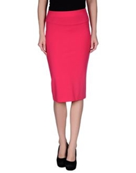Space Style Concept 3 4 Length Skirts Fuchsia