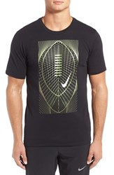 Nike Men's Metallic Football Graphic Dri Fit T Shirt