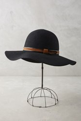 Anthropologie Rouelle Floppy Hat Black