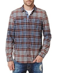 Buffalo David Bitton Salim Long Sleeve Shirt Currant
