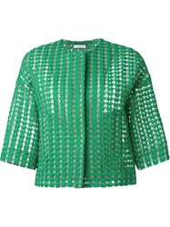 P.A.R.O.S.H. 'Plastic' Jacket Green