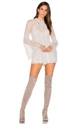 Alice Mccall Hands To Myself Playsuit White