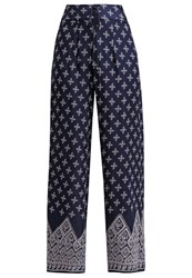 Band Of Gypsies Trousers Navy Blue Dark Blue