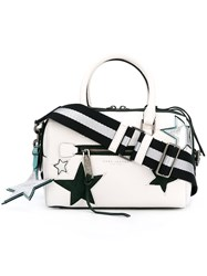 Marc Jacobs Small 'Star Patchwork' Bauletto Tote White