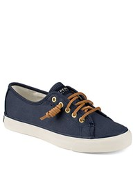 Sperry Seacoast Canvas Sneakers Seacoast Navy