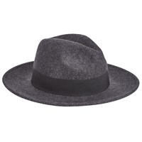 John Lewis And Co. Wool Fedora Hat Grey