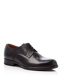 Kenneth Cole Speed Dial Plain Toe Derby Shoes Black