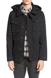 Rvca Men's 'Grappler' Hooded Utility Jacket