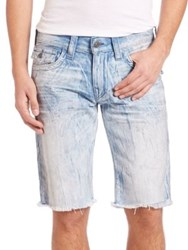 True Religion Faded Cotton Shorts Day Shifter