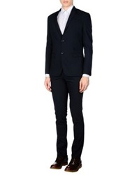 Alessandro Dell'acqua Suits Black