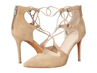 Marc Fisher Toni Tan Suede High Heels