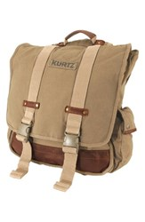 Men's A. Kurtz 'Maplewood' Backpack Beige Khaki