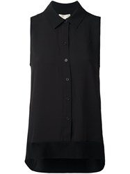 Michael Michael Kors Sleeveless Shirt Black