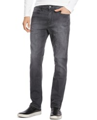 Kenneth Cole Reaction Gray Wash Faded Jeans