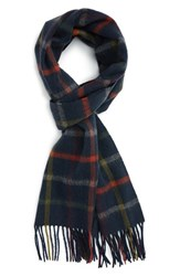 Barbour Men's Bolt Check Wool And Cashmere Scarf