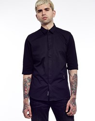 Religion Koto Jersey Short Sleeve Shirt Black
