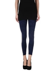 Pinko Leggings Dark Blue
