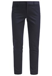 Banana Republic Sloan Solids Trousers True Navy Dark Blue