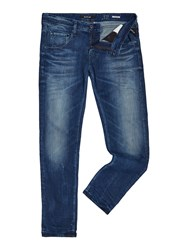 Replay Numasig Tapered Fit Jeans Blue