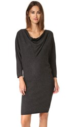 Joie Athel B Sweater Dress Heather Charcoal