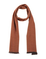 Gianfranco Ferre' Accessories Oblong Scarves Men Rust