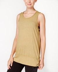 Gaiam Ambrosia Yoga Tank Top Bronze