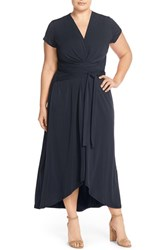Michael Michael Kors Plus Size Women's Cap Sleeve Maxi Dress