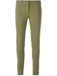 Emilio Pucci Skinny Trousers Green