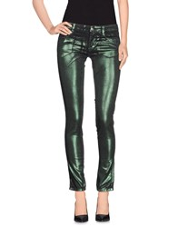 Denny Rose Trousers Casual Trousers Women Green