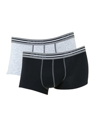 Sloggi 2 Pack Match Hipster Trunk Grey