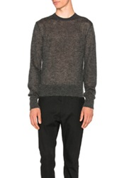 Calvin Klein Collection Jerd Crewneck Sweater In Gray