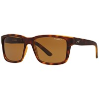 Arnette An4218 Swindle Polarised Square Sunglasses Tortoise