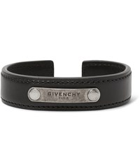 Givenchy Leather Cuff Black
