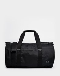 Fred Perry Holdall In Black Black