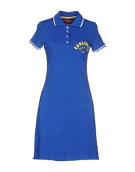 Carlsberg Dresses Short Dresses Women Blue