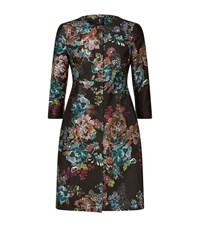 Ted Baker Honibea Antique Botanical Coat Female Black
