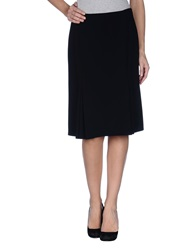 Rena Lange Knee Length Skirts Black