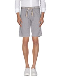 Basicon Trousers Bermuda Shorts Men Grey